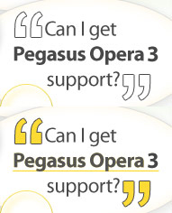 Can I get Support for my Pegasus Opera 3 Accounts Software Installation?