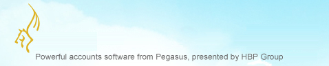 Pegasus Accounts Software home