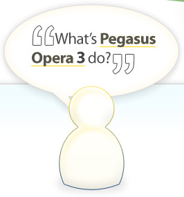 What's Pegasus Opera 3 Do